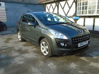 USED 2013 13 PEUGEOT 3008 1.6 HDI ACTIVE 5d 115 BHP