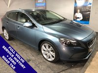 "USED 2012 62 VOLVO V40 1.6 D2 SE LUX NAV 5DOOR 113 BHP Zero Road Tax         Full Volvo Service History    :    Cruise Control / Speed Limiter    :     Satellite Navigation Climate Control / Air Conditioning    :    18"" Alloy Wheels    :    Reverse Parking Sensors"