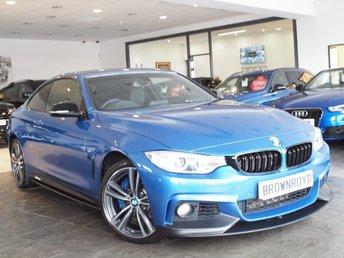 2015 BMW 4 SERIES 3.0 435D XDRIVE M SPORT 2d AUTO 309 BHP £20850.00