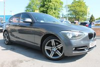 USED 2012 62 BMW 1 SERIES 2.0 120D SPORT 5d AUTO 181 BHP LOW MILES - GREAT SERVICE HISTORY - BLUETOOTH - i DRIVE - RARE AUTOMATIC - ALLOY WHEELS - START STOP - MUST BE SEEN