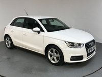 USED 2016 66 AUDI A1 1.0 SPORTBACK TFSI SPORT 5d 93 BHP ONE OWNER - SERVICE HISTORY - AIR CON - BLUETOOTH - HALF LEATHER - STOP/START - CD PLAYER - CRUISE