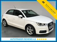 USED 2016 66 AUDI A1 1.0 SPORTBACK TFSI SPORT 5d SERVICE HISTORY - 1 OWNER - HALF LEATHER - BLUETOOTH - AIR CON - CRUISE CONTROL - CD - DAB RADIO