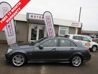 USED 2010 60 MERCEDES-BENZ C CLASS 2.2 C250 CDI BLUEEFFICIENCY SPORT 4DR AUTOMATIC DIESEL 204 BHP