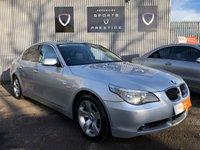 USED 2006 06 BMW 5 SERIES 3.0 530D SE 4d AUTO 228 BHP SAT NAV HEATED DAKOTA LEATHER SEATS PARK ASSIST FULL HISTORY
