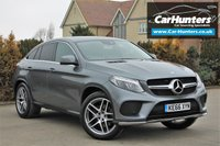USED 2017 66 MERCEDES-BENZ GLE-CLASS 3.0 GLE 350 D 4MATIC AMG LINE 4d AUTO 255 BHP