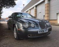 2006 JAGUAR S-TYPE 3.0 SE V6 4d AUTO 240 BHP £1499.00