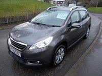 USED 2016 65 PEUGEOT 2008 1.2 PURE TECH ACTIVE 5d 82 BHP ++LOW RUNNING COSTS+12 MONTHS FREE AA BREAKDOWN COVER++