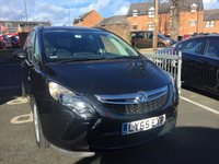 """USED 2016 65 VAUXHALL ZAFIRA TOURER 1.4 DESIGN 5d 138 BHP ONLY 8791 MILES,EURO 6, 7 SEATER, CHEAP TO RUN AND EXCELLENT FUEL ECONOMY! GOOD SPECIFICATION INCLUDING PARKING SENSORS,CLIMATE CONTROL, FULL SERVICE HISTORY, 2 STAMPS AND 17"""" ALLOY WHEELS."""