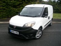 USED 2015 65 FIAT DOBLO 1.2 16V MULTIJET 1d 90 BHP NO VAT JUST Two Former Careful Owners From New, ONLY 50,000 Miles with Full Service History, NO VAT!!