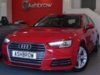 USED 2016 16 AUDI A4 AVANT 2.0 TDI ULTRA SPORT 5d 150 S/S NEW SHAPE, UPGRADE HEATED FRONT SEATS, UPGRADE 4 WAY LUMBAR SUPPORT, UPGRADE DE-BADGE FEATURE, SAT NAV, AUDI SMART PHONE WITH APPLE CAR PLAY & ANDROID AUTO, AUDI CONNECT, DAB RADIO, CRUISE CONTROL WITH SPEED LIMITER, LED DAYTIME RUNNING LIGHTS, XENON HEADLIGHTS, BLUETOOTH PHONE & MUSIC STREAMING, REAR PARKING SENSORS, 17 INCH ALLOYS, ELECTRIC TAILGATE, WIFI, AUX INPUT, 2x USB PORTS, 1 OWNER FROM NEW, FULL AUDI SERVICE HISTORY, £20 ROAD TAX