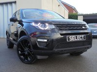 2016 LAND ROVER DISCOVERY SPORT 2.0 TD4 HSE BLACK 5d AUTO 180 BHP £26450.00