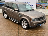 USED 2009 59 LAND ROVER RANGE ROVER SPORT 3.0 TDV6 HSE 5d AUTO 245 BHP