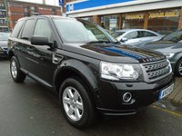 USED 2013 13 LAND ROVER FREELANDER 2.2 TD4 GS 5d AUTO 150 BHP FULL LEATHER, HEATED SEATS
