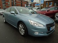 USED 2013 63 PEUGEOT 508 2.0 HYBRID4 4d AUTO 200 BHP SAT NAV, HEATED SEATS
