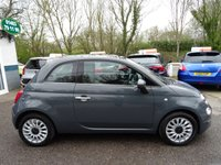 USED 2016 FIAT 500 1.2 LOUNGE 3d 69 BHP NEW SHAPE New Shape Model finished in Tech-House Grey! Full Service History (Fiat + ourselves), One Previous Owner, Minimum 8 months MOT, Balance of Fiat Warranty until October 2019! Great fuel economy! Only £20 Road Tax!