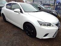 2014 LEXUS CT 1.8 200H ADVANCE 5d AUTO 134 BHP £12295.00