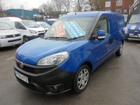 USED 2015 65 FIAT DOBLO 1.2 DIESEL SX MULTIJET MAXI LONG WHEEL BASE, ONLY 52,000 MILES FULL SERVICE HISTORY, ELECTRIC WINDOWS / MIRRORS !! FINANCE AVAILABLE !!! 2015 FIAT DOBLO MAXI PREMIER VAN SALES STOCKPORT 0161 429 8644