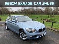 2013 BMW 1 SERIES 1.6 114I SE 5d 101 BHP £8450.00
