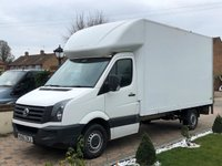 2012 VOLKSWAGEN CRAFTER CR35 2.0TDI 107 BHP LWB LUTON VAN WITH TAILLIFT £7449.00