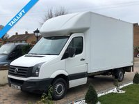 USED 2012 62 VOLKSWAGEN CRAFTER CR35 2.0TDI 107 BHP LWB LUTON VAN WITH TAILLIFT +500KG TAILLIFT+ 1 OWNER+