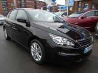 USED 2016 65 PEUGEOT 308 1.6 BLUE HDI S/S ACTIVE 5d 120 BHP 1 OWNER, 11,000 MILES, SAT NAV