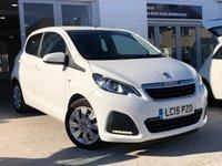 2015 PEUGEOT 108 1.0 ACTIVE 5d AUTO 68 BHP £7250.00