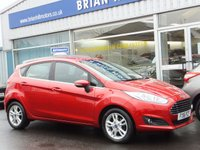 USED 2016 16 FORD FIESTA 1.0 Eco-Boost ZETEC 5dr (100bhp) ....ONE OWNER. FULL FORD SERVICE HISTORY. (£0 Road tax & 65mpg)