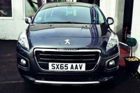 USED 2016 65 PEUGEOT 3008 1.6 BLUE HDI S/S ACTIVE 5d 120 BHP STUNNING 3008 DIESEL WITH BLUETOOTH+CRUISE