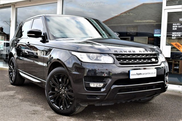 2013 63 LAND ROVER RANGE ROVER SPORT 3.0 SDV6 HSE DYNAMIC 5d AUTO 288 BHP BLACK STYLING PACK