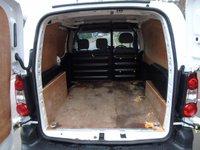 USED 2015 15 PEUGEOT PARTNER 1.6 HDI SE 625 75 BHP L1 PANEL VAN 1 OWNER+PLY LINED+SLIDING DOOR