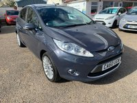 USED 2011 60 FORD FIESTA 1.6 TITANIUM TDCI 5d 94 BHP EXCEPTIONALLY LOW MILEAGE / FRONT AND REAR PARK ASSIST / CRUISE CONTROL / VOICE COMM / USB / BLUETOOTH / 1 OWNER / FORD MAIN DEALER HISTORY / £20 A YEAR ROAD TAX