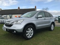 2009 HONDA CR-V 2.2 I-CTDI ES 4x4 full history 2 owners very well looked after car £5495.00