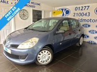 USED 2006 56 RENAULT CLIO 1.4 EXPRESSION 16V 5d 98 BHP