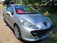 USED 2008 08 PEUGEOT 207 1.6 GT COUPE CABRIOLET 2d 148 BHP