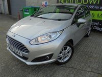 USED 2015 FORD FIESTA 1.2 ZETEC 5d 81 BHP Excellent Condition, Great Small Hatch, No Deposit Required, Part Ex Welcomed