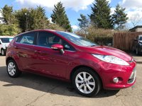 2010 FORD FIESTA 1.4 ZETEC 16V 5d AUTOMATIC LOW MILEAGE EXAMPLE WITH SERVICE HISTORY £5000.00