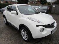 2013 NISSAN JUKE 1.6 ACENTA PREMIUM 5d AUTO 117 BHP £7850.00