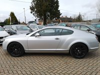 USED 2009 59 BENTLEY CONTINENTAL 6.0 SUPERSPORTS 2d AUTO 621 BHP FSH+Supersport Interior+NAV