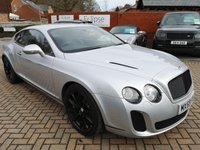 2009 BENTLEY CONTINENTAL 6.0 SUPERSPORTS 2d AUTO 621 BHP £45995.00