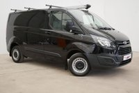 2013 FORD TRANSIT CUSTOM 2.2 270 LR P/V 100 BHP SWB LOW ROOF (AIR CONDITIONING LOW MILES) £9990.00