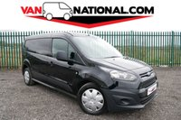 2014 FORD TRANSIT CONNECT 1.6 240 PANEL VAN  95 BHP LWB (LWB WITH AIR CON) £8990.00
