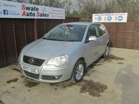 USED 2007 07 VOLKSWAGEN POLO 1.4 S 3d 79 BHP FINANCE AVAILABLE FROM £27 PER WEEK OVER TWO YEARS - SEE FINANCE LINK FOR DETAILS