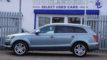 Used Audi Q7 cars in Coventry from Highlanders GB