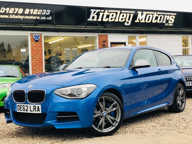 2013 62 BMW 1 SERIES 3.0 M135i AUTO PRO NAV & ADAPTIVE M SPORT SUSPENSION