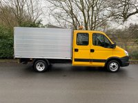 USED 2014 14 IVECO DAILY 2.3 35C13126 DOUBLE CAB ARBORIST TIPPER 1 COUNCIL OWNER