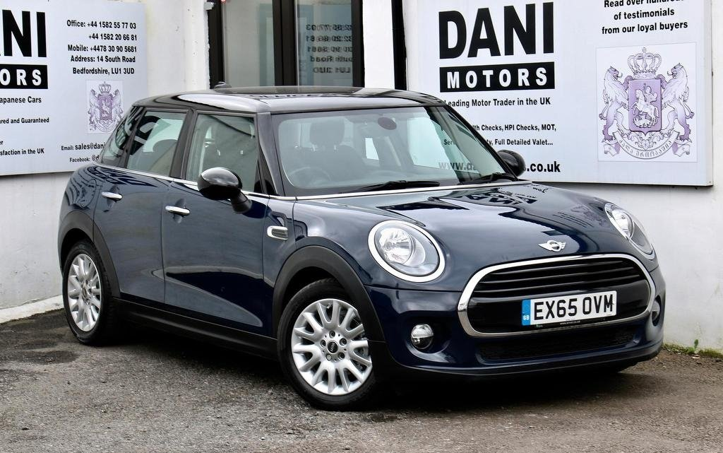 USED 2015 65 MINI HATCH COOPER 1.5 Cooper (s/s) 5dr *1 OWNER*SATNAV*BLUETOOTH*