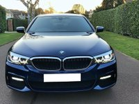 USED 2018 68 BMW 5 SERIES 2.0 520d M Sport Auto (s/s) 4dr