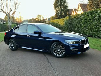 2018 BMW 5 SERIES 2.0 520d M Sport Auto (s/s) 4dr £31995.00