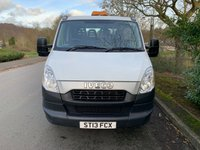 USED 2013 13 IVECO DAILY 3.0 LTR 150 BHP 50C15 DOUBLE CAB 15FT DROPSIDE 1 OWNER VGC 60 K