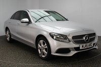 USED 2015 15 MERCEDES-BENZ C CLASS 2.0 C200 SE EXECUTIVE 4DR 184 BHP SERVICE HISTORY + HEATED LEATHER SEATS + SATELLITE NAVIGATION + REVERSE CAMERA + PARKING SENSOR + BLUETOOTH + CRUISE CONTROL + DAB RADIO + CLIMATE CONTROL + MULTI FUNCTION WHEEL + ELECTRIC WINDOWS + 17 INCH ALLOY WHEELS